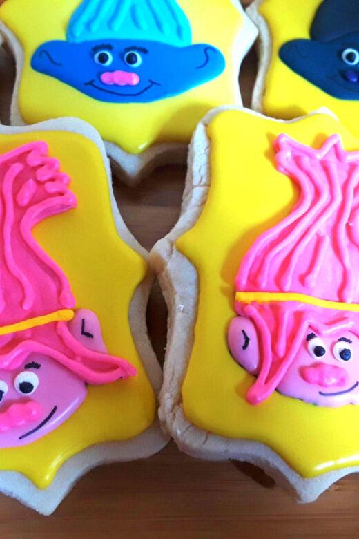 Custom troll cookies